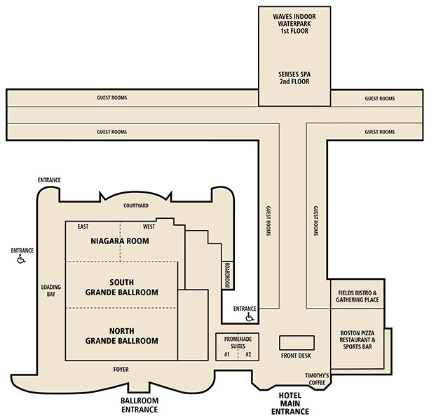 Americana Resort Floor Plan