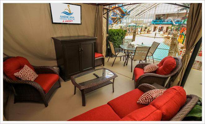 private cabana rentals