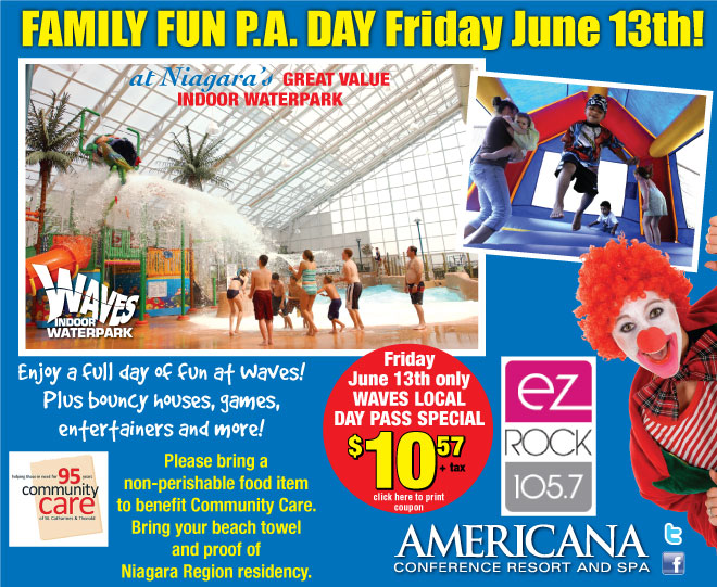 Family Fun PA Day